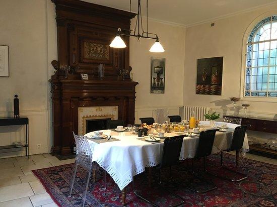 La Maison d'Hôtes Nantes Centre: Petit déjeuner