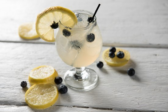 The Mill in Hershey: Blueberry Lemonade Cocktail