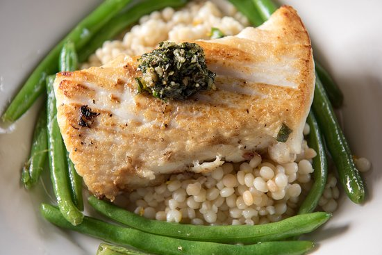 The Mill in Hershey: Seared Halibut