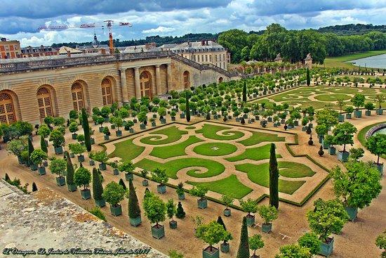 lorangerie le jardin de versailles frana - Les Jardins De Versailles