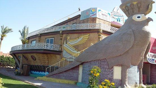 Hawaii Riviera Aqua Park Resort - Families and Couples Only: fish restaurant built as a massive boat