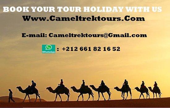 Camel Trek Tours Morocco