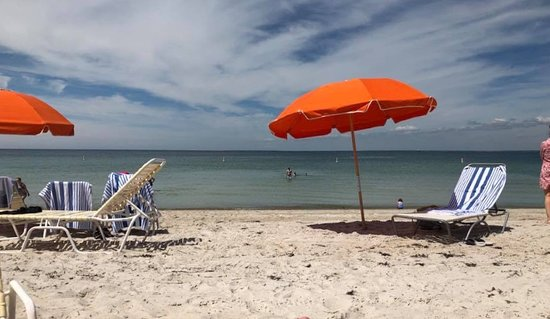 Seacrest Beach Hotel North Falmouth Ma: Enjoying a perfect beach day at the Seacrest.