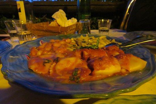 La Tagliata: The pasta course for three people