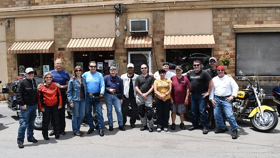 Lindsay's Roost Bar and Grill: Virginia Riders from Richmond, VA