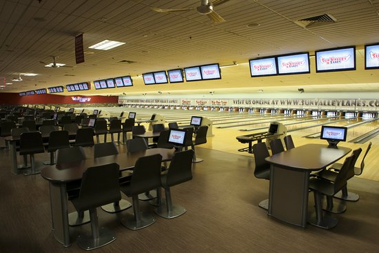 Sun Valley Lanes: With 32 lanes, we are Lincoln's largest center.