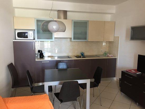 RESIDENCE SAN PAOLO: Cucina completa di tutto il necessario