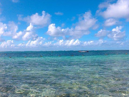 Solana Beach Mauritius: Great swimming area