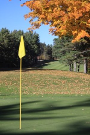 Gardner, MA: Fourteenth green overlooking the fifteenth hole