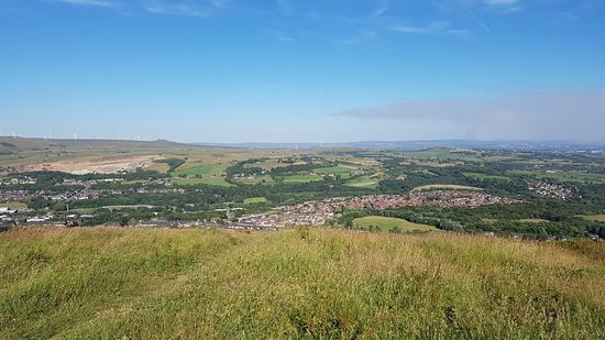 Peel Tower: fantastic views from Holcombe Hill