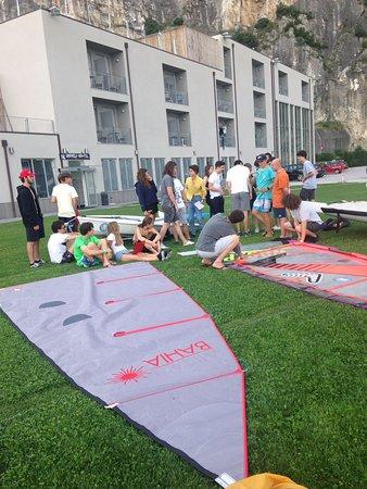 Campione del Garda, Itália: Sailing course
