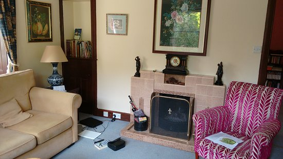 Threave Garden: Gate lodge, sitting room