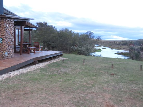 Bontebok National Park: cabin and view