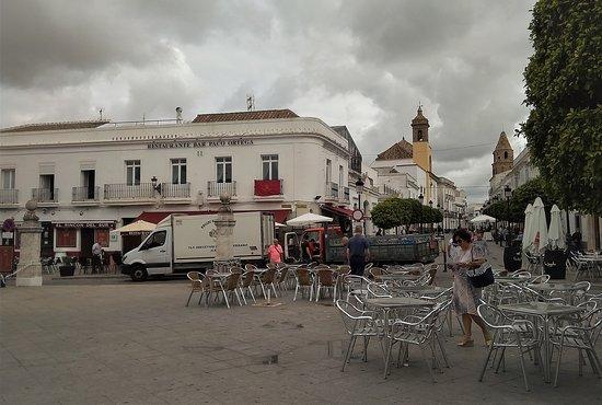 Plaza de Espana: Terrazas.