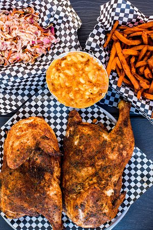 Satchmo's BBQ : Whole Chicken w/ Sides