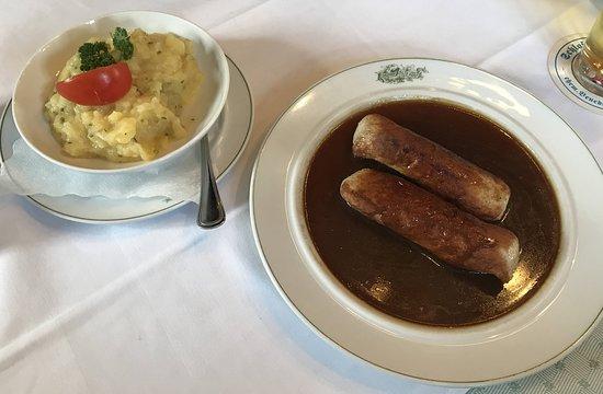 Holzkirchen, Germany: Wollwürste mit Kartoffelsalat