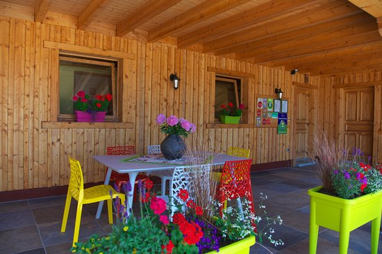 Fournet-Blancheroche, Франция: Entrée des chambres d 'hôtes