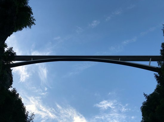 Altes Bad Pfaefers: Taminabrücke