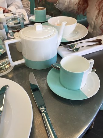 The Blue Box Cafe: Table settings