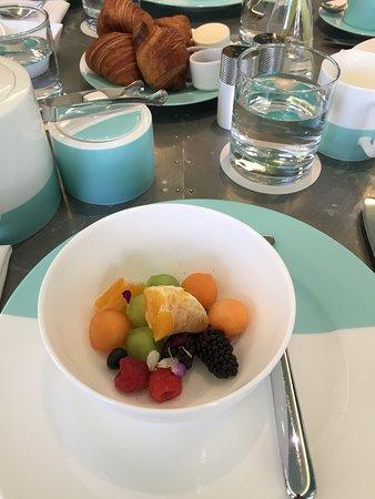 The Blue Box Cafe: Fruit salad
