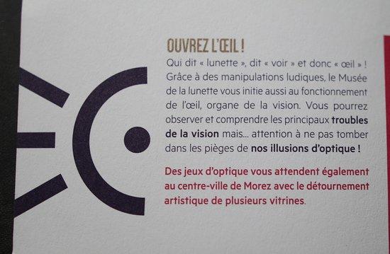 Morez, Frankrike: Musée de la Lunette