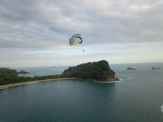 Playa Manuel Antonio: Vista de ensueño
