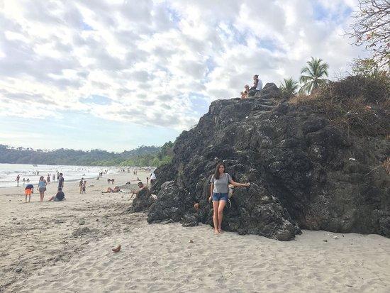 Playa Manuel Antonio: Paisaje maravilloso