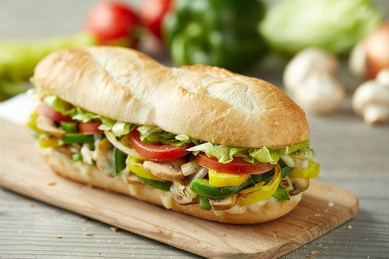 Donatos Pizza: Fresh Vegy Sub