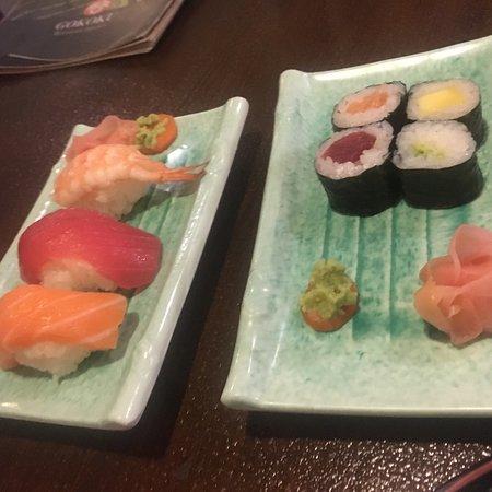 Restaurant Japones Gokoku: Sushi :)