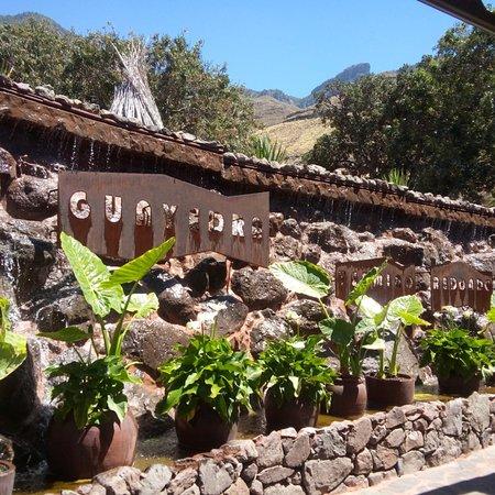 Redondo de Guayedra: Guayedra , un restaurante de alto nivel. Unos rincones maravillosos con una decoración exquisita