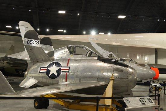 Nasjonalmuseet for amerikanske luftstyrker: McDonnell XF-85 Goblin