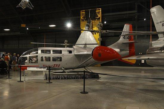 Nasjonalmuseet for amerikanske luftstyrker: Bell Helicopter Textron XV-3