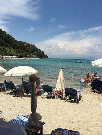 Afytos Beach Image