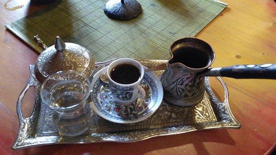 Teahouse Klopacka: cinnamon coffee