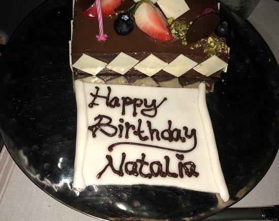 Kanuhura - Maldives: Мой торт на День рождения!