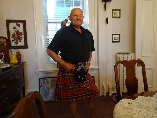 """Pictou, Canada: Our host Sandy """"THE SCOTSMAN"""""""