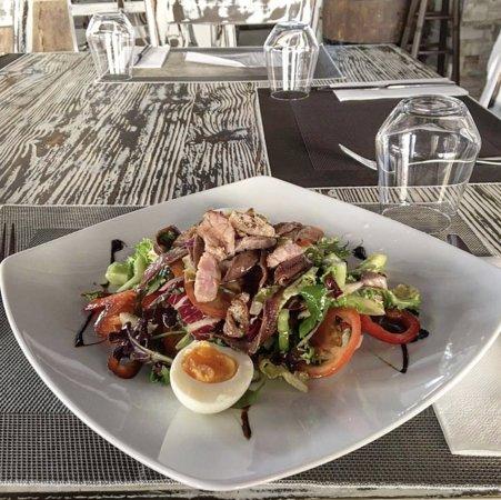 Restaurante El Gusto: ensalada