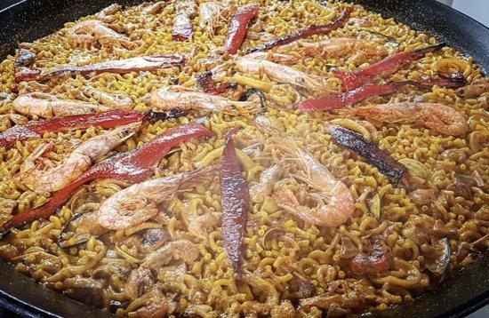 Restaurante El Gusto: paella