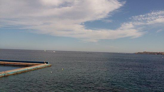 Preluna Hotel and Spa: Sea view