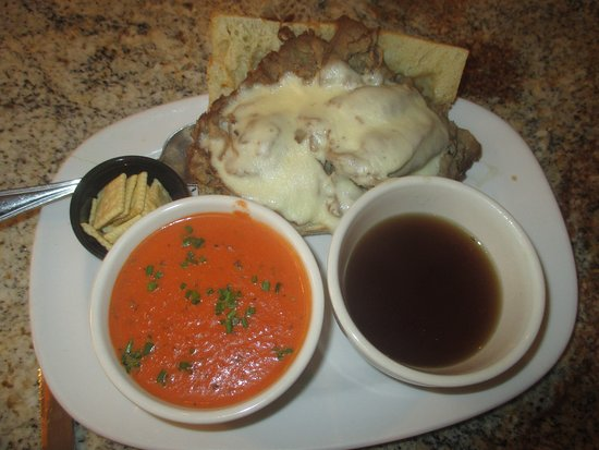 Crystal, MN: with a cup of Tomato Soup