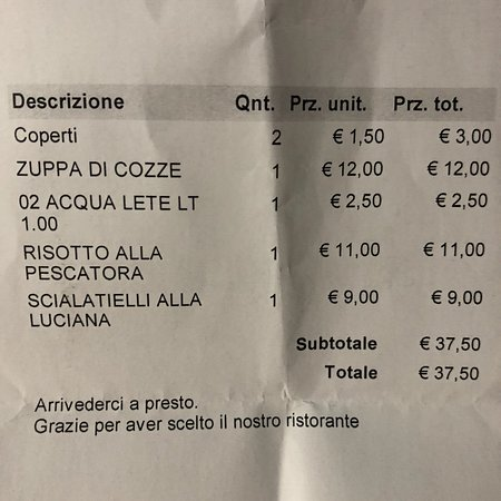 Foto de Trattoria Napoli Notte