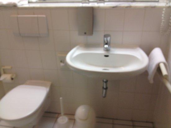 Best Western Hotel Prisma: Sink & Toilet