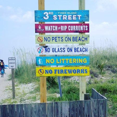 Tybee Island South Beach Address