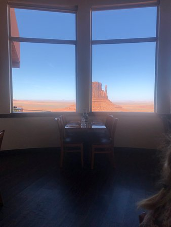 The View Restaurant: The view from inside The View.