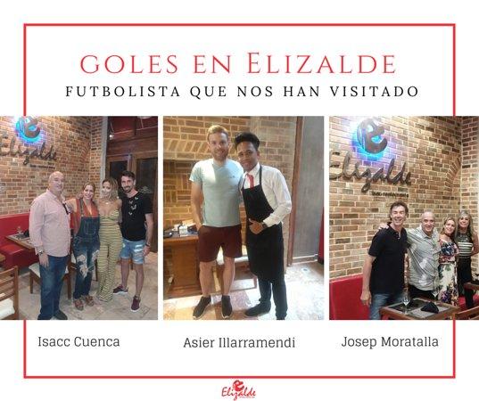 Elizalde Bar-Restaurante: Personalidades del futbol que nos han visitado