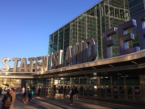 """Паром """"Статен-Айленд Ферри"""": Staten Island Ferry station"""