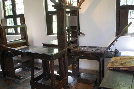 Museum Plantin - Moretus: Equipment room