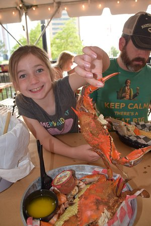 Phillips Seafood: shrimp and crab boil
