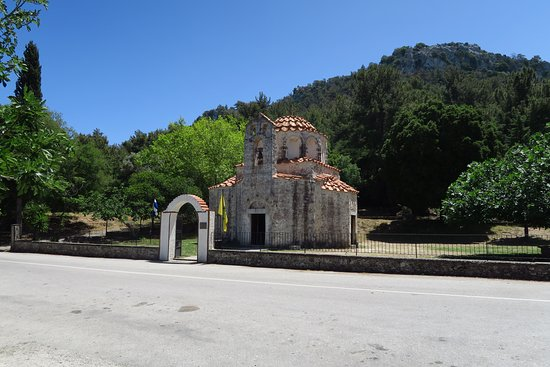 Eleousa, Greece: exterior