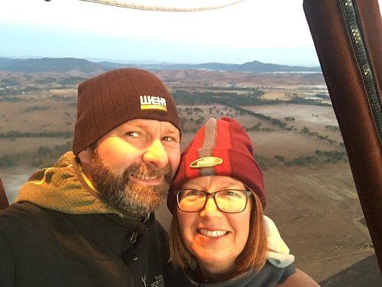 Hot Air Balloon Brisbane & Canungra Vineyards: Great views